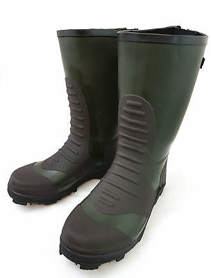 Bison Bearclaw Studded Wellington Shore Field Boots Sz 9-11