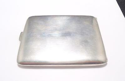 Vintage Sterling Silver Cigarette Case  ~ 117.7 grams ~ 3-B123