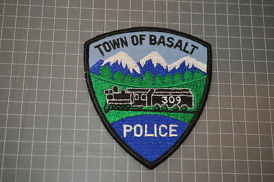 Town Of Basalt Colorado Police Department Patch (B17-2)