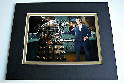 Peter Capaldi Signed Autograph 10x8 photo mount display TV Doctor Who & COA
