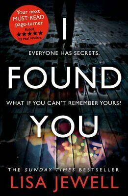 I Found You by Jewell, Lisa Book The Cheap Fast Free Post