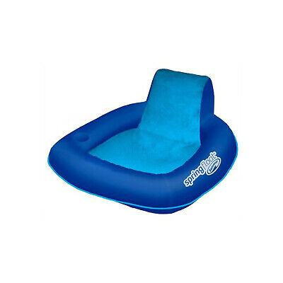 SwimWays Spring Float SunSeat Floating Pool Lounge Chair | 13017