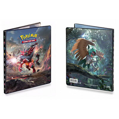 Pokemon Sun & Moon 4 Pocket A5 Size Folder Album New SEALED