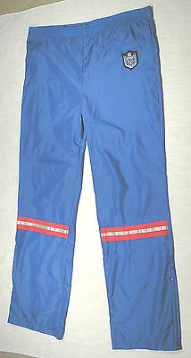 Vintage PRINCE Nylon Track Pants (80s) TENNIS CREST! AWESOME! WOW! L/XL