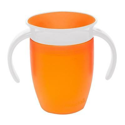 Munchkin Miracle 360 Trainer Cup (Orange) 207ml Baby Sippy Cup