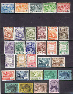 Portugal 1924 Camoes set of 31 unmounted mint MNH