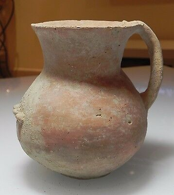 Zurqieh - Over 4000 Years Old Terracotta Jug,  Jordan Valley