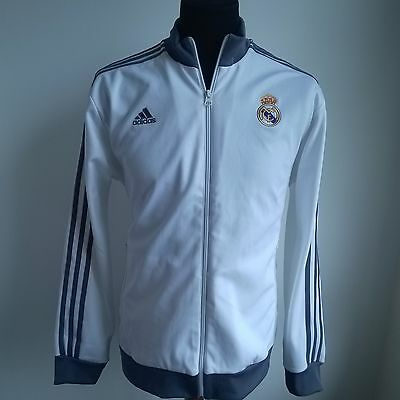 Real Madrid 2013 Track Top Adidas Football Jersey Size Adult L
