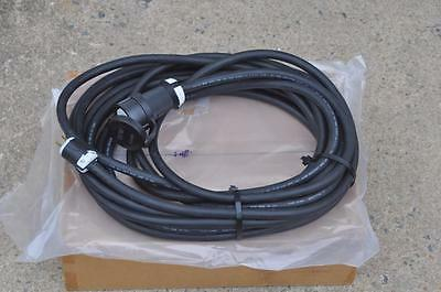 Carol 10/3 50 Foot Extension Cord  600 Volts SOOW 15A Plug to Hubbell 30A Twist