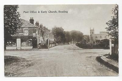 Reading, Earley 3 Tuns Cross Roads, Post Office & Church, Uncommon.