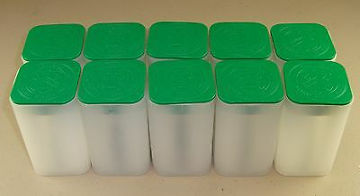 Lot of (10) Empty U.S. Mint American Silver Eagle Storage Tubes
