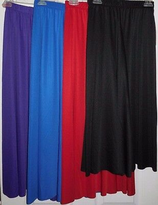 NWT Body Wrappers Dance Praise Worship Palazzo Pants 4 Color Choices Adult/Child
