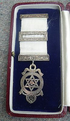 C.1934 Old Masonic Silver Hallmarked Chapter Jewel
