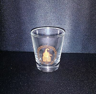 """The Old Bushmills Distillery Co Ltd"" Irish Whiskey Shot Glass Vintage Label VGC"