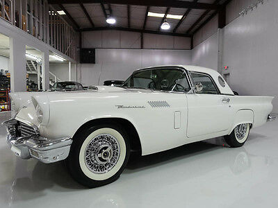 1957 Ford Thunderbird E-Code Convertible, owned by country star Jim Owen 1957 Ford Thunderbird E-Code Convertible, low miles! Rare E-Code model!