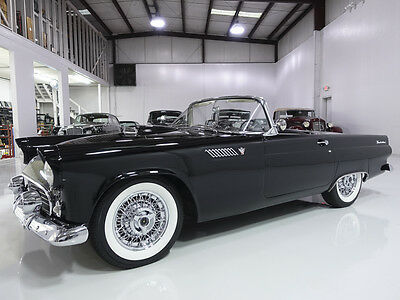 1955 Ford Thunderbird Convertible, ground-up restoration with upgrades! 1955 Ford Thunderbird Convertible, highly optioned! Includes hardtop & soft top