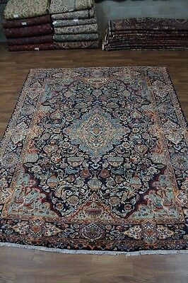 Gorgeous Design Semi Antique Kashmar Persian Oriental Area Rug Carpet Sale 10X13