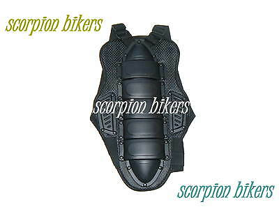 Motorcycle Motocross Back Spine Protector Body Armour Size L