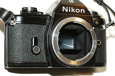 Nikon EM 35mm Film SLR Camera (Body)BLACK. With Battery.