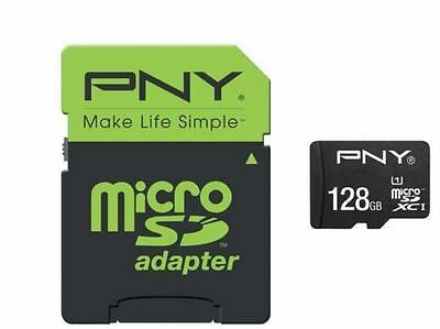 PNY SDU12810HIGPER80-EF -  MicroSD HIGH PERFORMANCE 80MB/s 128GB; SDHC CLASS...
