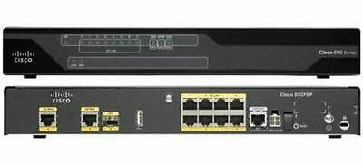 Cisco C892FSP-K9 - CISCO 892F 2 GE/SFP HIGH - PERF SECURITY ROUTER IN