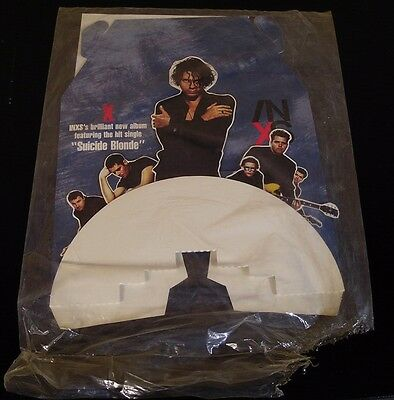 INXS-X/Suicide Blonde-ORIGINAL 1990 Record Store PROMO Counter Display-NEW!