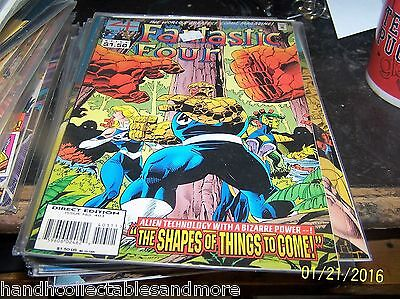 FANTASTIC FOUR  COMIC  #403    Marvel  + things to come