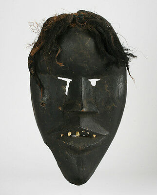 Rare Antique African Kono Tribal Mask / 19th - Early 20th Century / West Africa