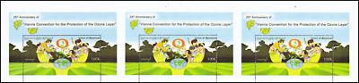 25 Years Vienna Convention for the Protection of the Ozone Layer -STRIPE- (MNH)