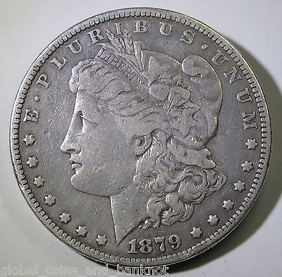 United States - 1879 $1 Morgan - Silver Coin