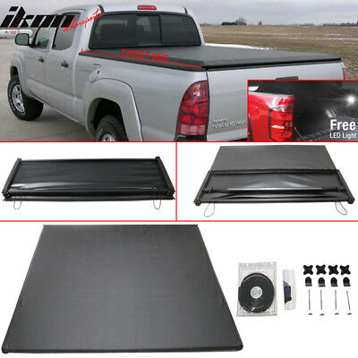 Special Price Limited time 05-15 Tacoma 5FT Bed Tri-Fold Soft Tonneau Cover