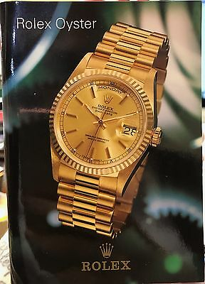 Rolex Oyster Store Brochure Catalogue Booklet 17000 14060 16613 16570 16700 1652