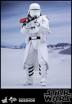 Sideshow Hot Toys Ep VII First Order Snowtrooper Officer 1:6 figur Star Wars