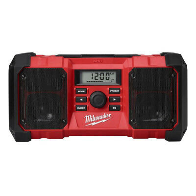 Milwaukee M18 18V Heavy-Duty Jobsite Radio (Bare Tool) 2890-80 Reconditioned
