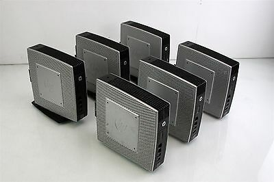 Job Lot of 6 HP T510 Thin Client - 3 with Stands and 3 Without Stands