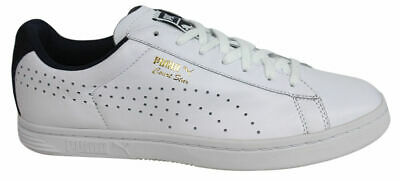b75481bc1cc Puma Court Star CRFTD Mens Trainers Shoes Leather White Lace Up 359977 02  D123
