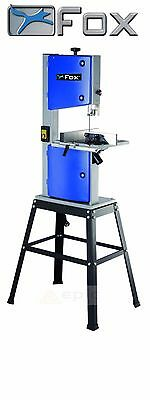 "FOX F28-186A Table Bench Top 250mm 10"" Bandsaw + Legstand & 6 TPI Wood Blade"