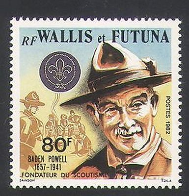 Wallis & Futuna 1982 Scouts/Baden-Powell/Scouting/People/Youth/Leisure 1v n34736