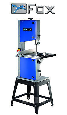 """FOX F28-191A Table Bench Top 300mm 12"""" Bandsaw + Legstand & 6 TPI Wood Blade"""