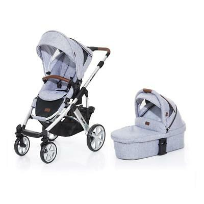 ABC Design Salsa 4 Pushchair & Carrycot (Graphite Grey) *SPECIAL OFFER*