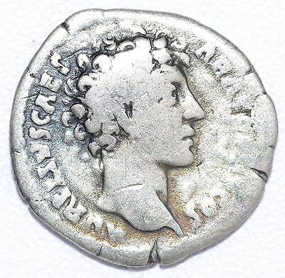AUTHENTIC MARCUS AURELIUS, AR Silver Denarius, Roman Coin, Rv. TOOLS - A802