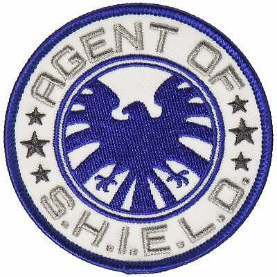 Official Marvel Comics Avenger Agents Of The Shield Logo Iron on Applique Patch
