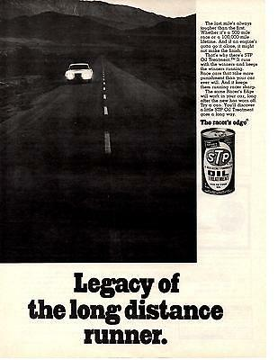1970 Mercury Cougar  ~  Classic Original Stp Oil Treatment Ad