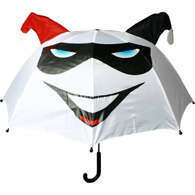 Officially Licensed DC Comics Harley Quinn White Pop Up Umbrella