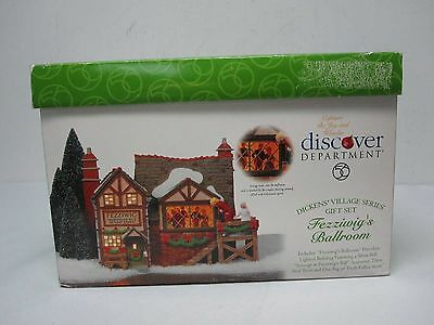 Dept 56 Animated Christmas Dickens Village Fezziwig Ballroom 58470 Mint In Box