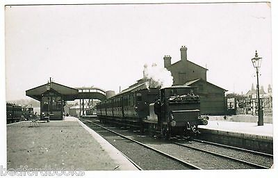 Real Photo Postcard Newport Station, Isle of Wight