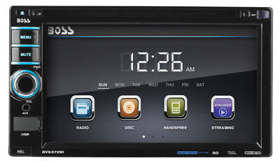 "Boss Audio BV9372BI 2-Din 6.2"" In-Dash Car Bluetooth DVD Receiver USB/SD/AUX"