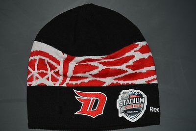 brand new c8654 12696 Reebok NHL Stadium Series Detroit Red Wings Beanie Knit Winter Hat Toque NWT