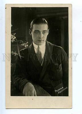 234358 Rudolph VALENTINO Italian MOVIE ACTOR old PHOTO Russian