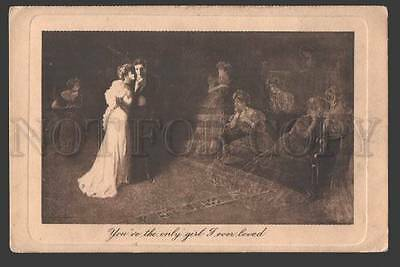 115924 Lovers & GHOSTS by Clyde SPURES Vintage Henderson PC